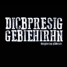 Deciphering Gibberish